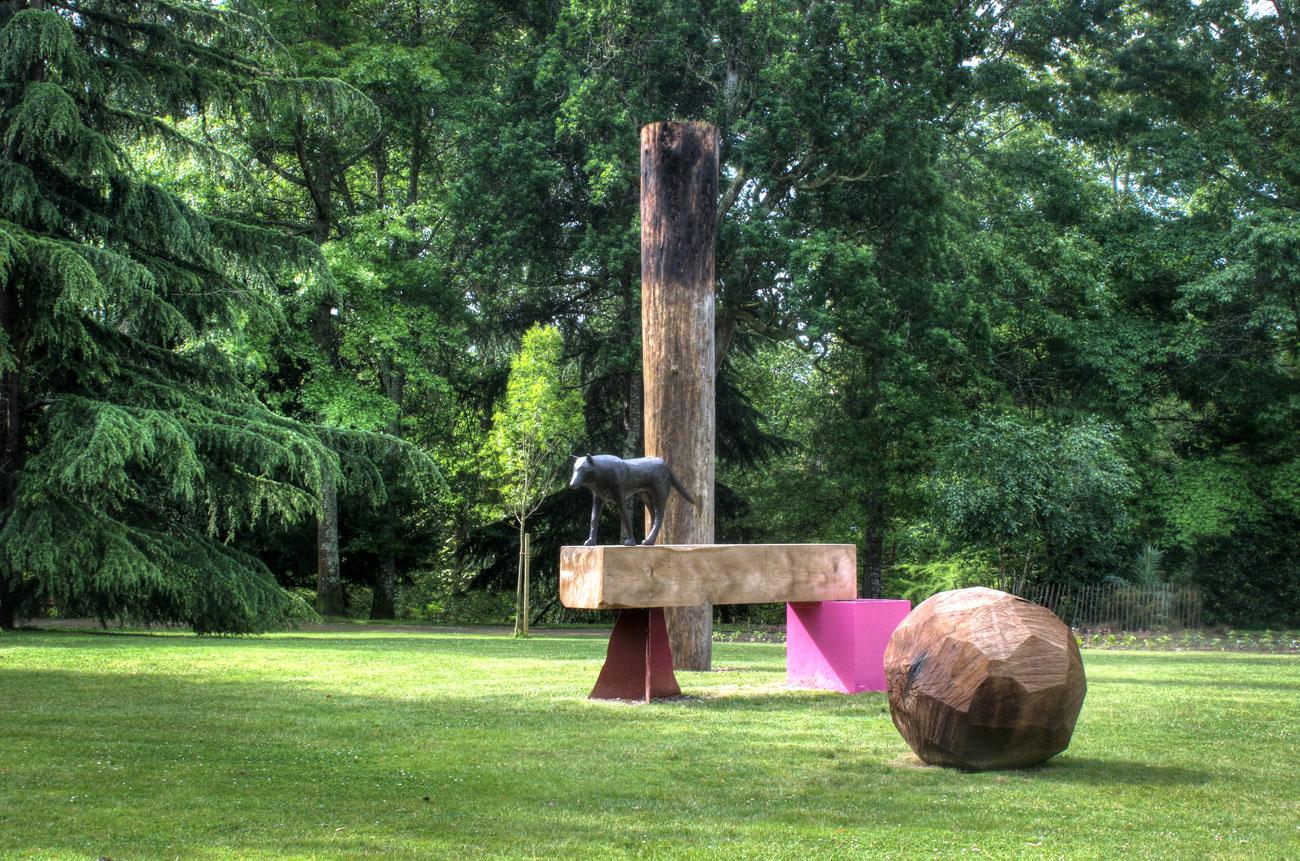 06 — Paysage et loup Roland Cognet Mont-de-Marsan, 2012 | programmation: Christophe Doucet