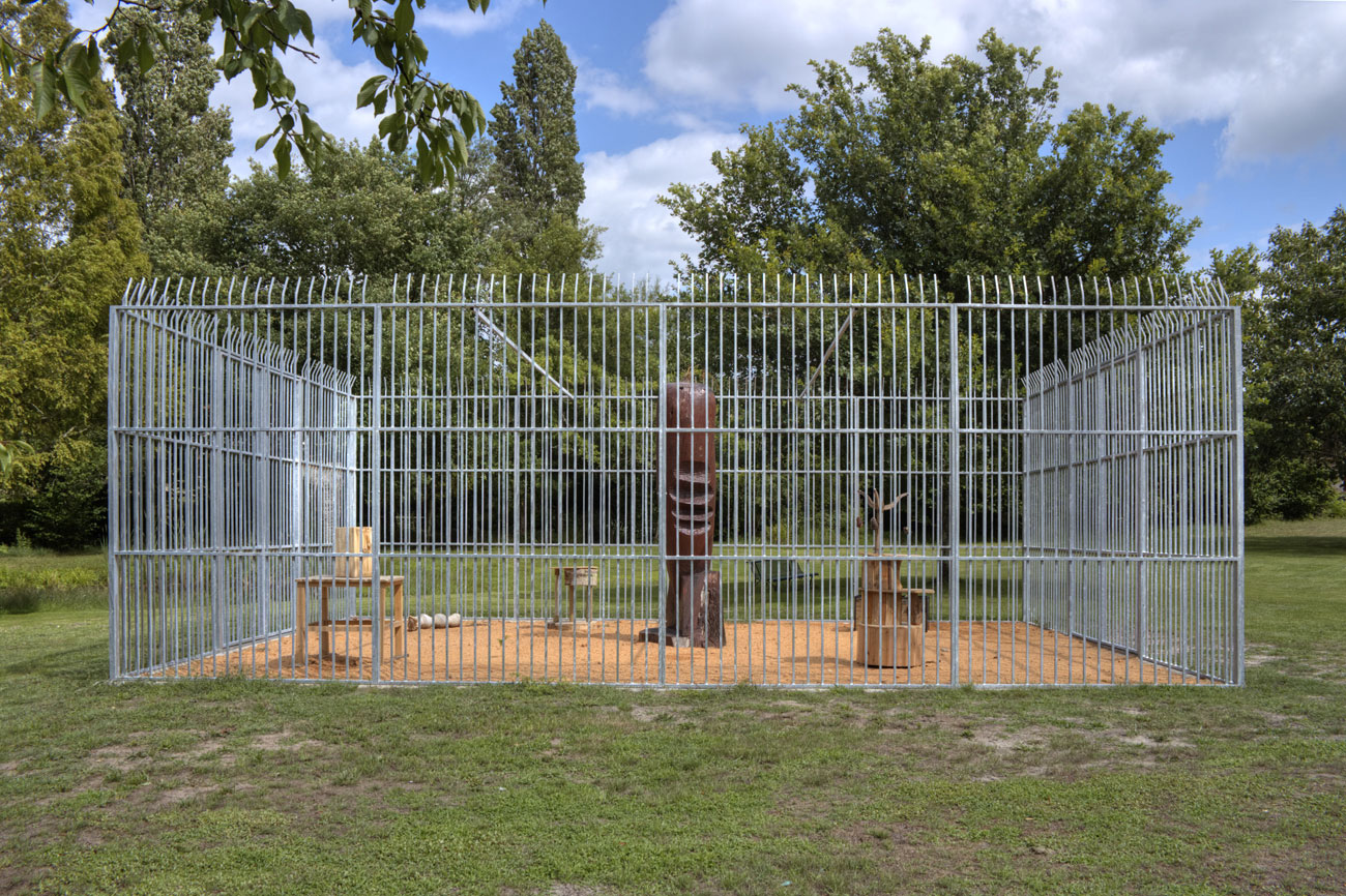 12 — Zoo de sculptures Laurent Le Deunff Garein, 2014 | programmation : Didier Arnaudet